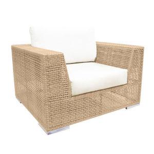 Austin Lido Indigo Outdoor Lounge Chair with Cushion