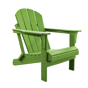 Adirondacks Lime Outdoor Adirondack Chair