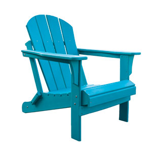 Adirondacks Teal Outdoor Adirondack Chair