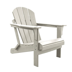 Adirondacks White Outdoor Adirondack Chair