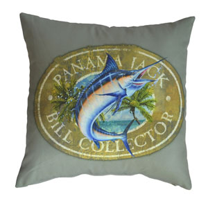 Multicolor Outdoor Bill Collector Throw Pillow, Set of 2