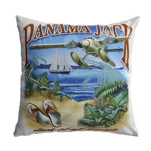 Multicolor Outdoor Jack of all Travels Throw Pillow, Set of 2