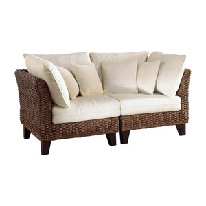 Sanibel El Centro Jungle Two-Piece Loveseat Set with Cushion