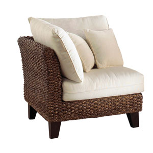 Sanibel Boca Grande Corner Chair with Cushion