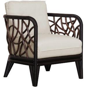 Trinidad York Peacock Lounge Chair with Cushion