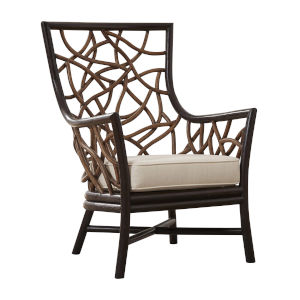 Trinidad York Peacock Occasional Chair with Cushion