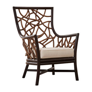 Trinidad Patriot Ivy Occasional Chair with Cushion