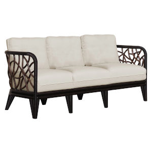 Trinidad Patriot Cherry Sofa with Cushion