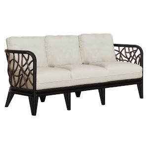 Trinidad Canvas Coal Sofa with Cushion