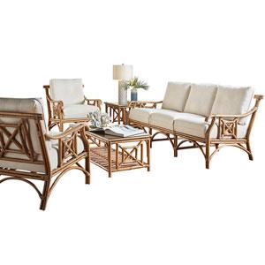 Plantation Bay Island Hoppin Five-Piece Living Set with Cushion