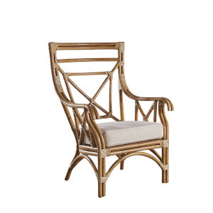 Plantation Bay Kalani Oyster Occasional Chair with Cushion