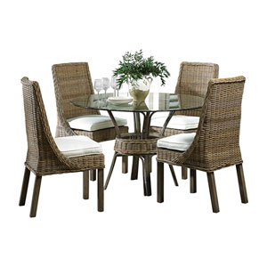 Exuma Patriot Ivy Dining Set with Cushion