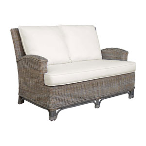 Exuma Patriot Ivy Loveseat with Cushion