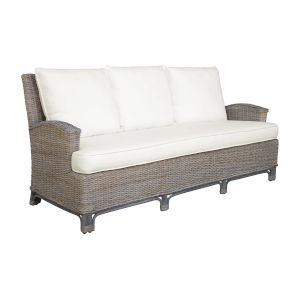 Exuma York Peacock Sofa with Cushion
