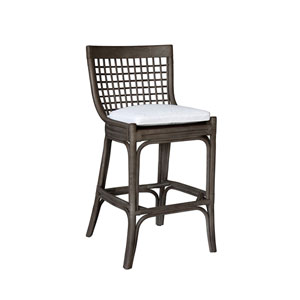 Millbrook York Dove Barstool with Cushion