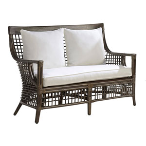 Millbrook Patriot Cherry Loveseat with Cushion