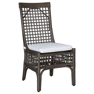 Millbrook Patriot Cherry Side Chair with Cushion