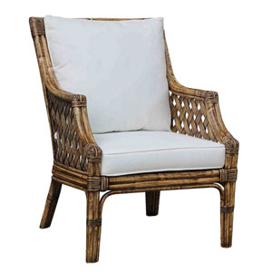 Old Havana Patriot Ivy Lounge Chair with Cushion