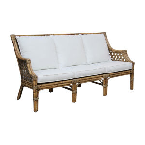 Old Havana Kalani Oyster Sofa with Cushion