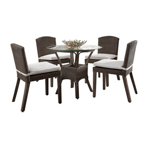 Playa Largo Rave Lemon Six-Piece Dining Set with Cushion