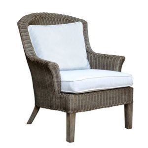 Playa Largo Patriot Ivy Lounge Chair with Cushion