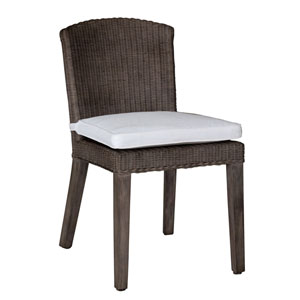Playa Largo Rave Brick Side Chair with Cushion