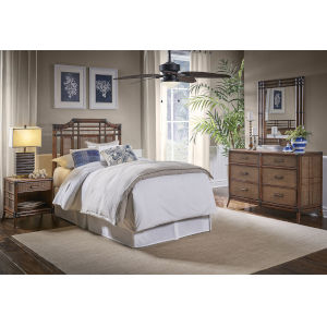 Palm Cove Twin Antique Twin Bedroom Sets