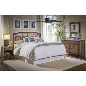 Palm Cove King Antique Four-Piece King Bedroom Set