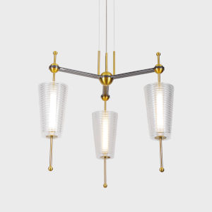 Toscana Antique Brass LED Pendant Title 24