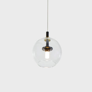 Portofino Antique Brass LED Mini Pendant Title 24