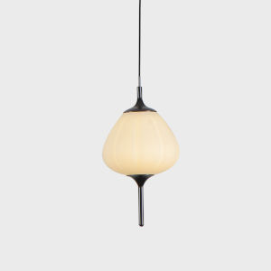 Lecce Black LED Mini Pendant Title 24