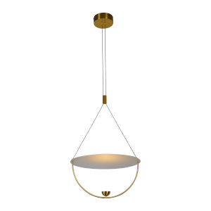 Como Antique Brass LED Pendant Title 24