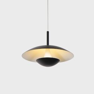 Rimini Black LED Pendant Title 24