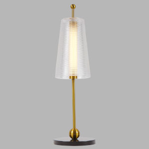 Toscana Antique Brass LED Table Lamp Title 24