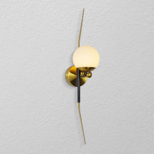 Chianti Antique Brass LED Wall Sconce Title 24