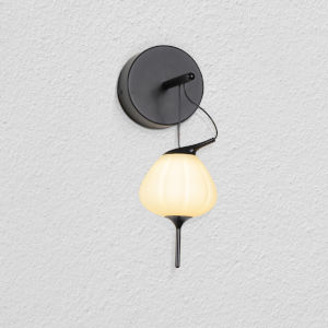 Lecce Black LED Wall Sconce Title 24