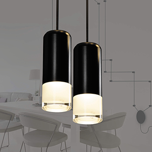 Expression Black Two-Light LED Wall Sconce