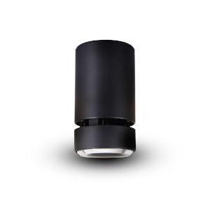 Orbit Black LED Flush Mount