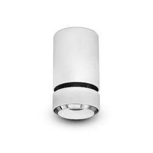 Orbit White LED Flush Mount