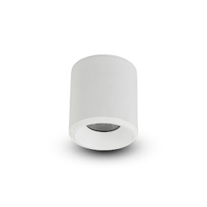 Node White Round LED Flush Mounted Downlight