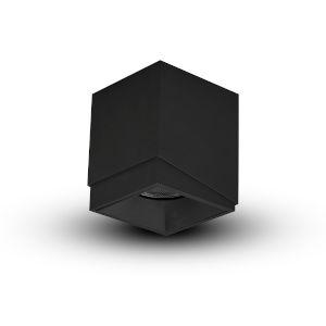 Node Black Square LED Flush Mounted Downlight