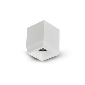 Node White Square LED Flush Mounted Downlight