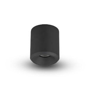 Node Black 20W Round LED Flush Mounted Downlight