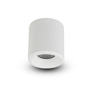 Node White 20W Round LED Flush Mounted Downlight