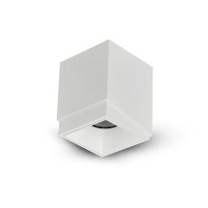 Node White 20W Square LED Flush Mounted Downlight