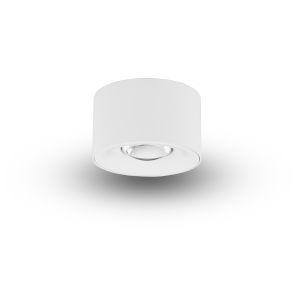 Node White 8W Round LED Flush Mounted Downlight
