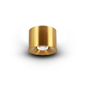Node Antique Brass 12W LED Flush Mounted Downlight