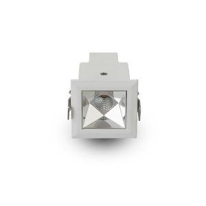 Rubik White LED Recessed Downlight