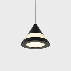 Procyon Black LED Mini Pendant