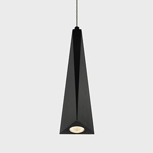 Polaris Black Five-Inch LED Mini Pendant